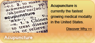 Discover Acupuncture